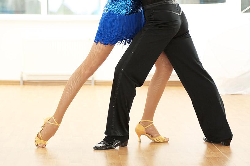 Passo di ballo di coppia